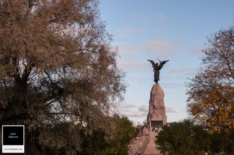 O memorial Russalka